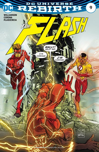 The Flash Cover - 12/15/2016
