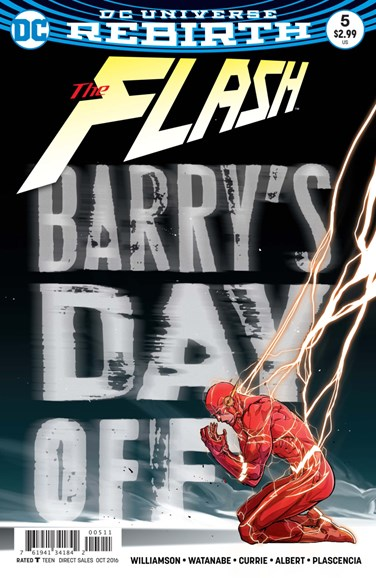 The Flash Cover - 10/16/2016