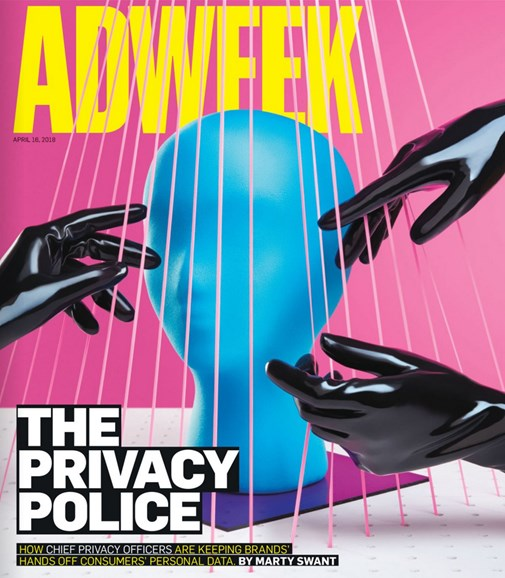 Adweek Cover - 4/16/2018