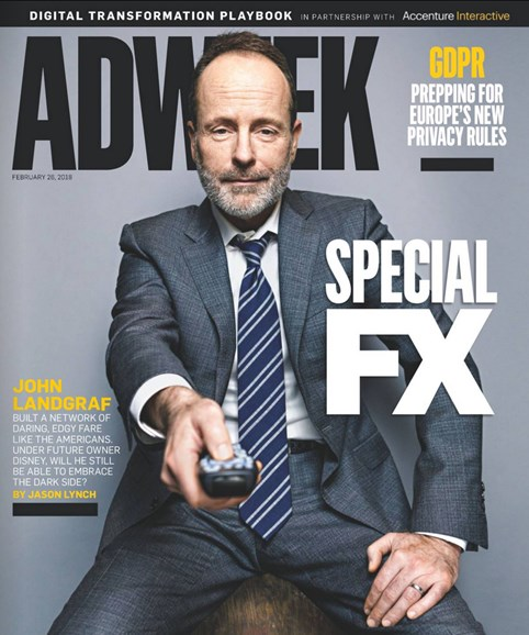 Adweek Cover - 2/26/2018