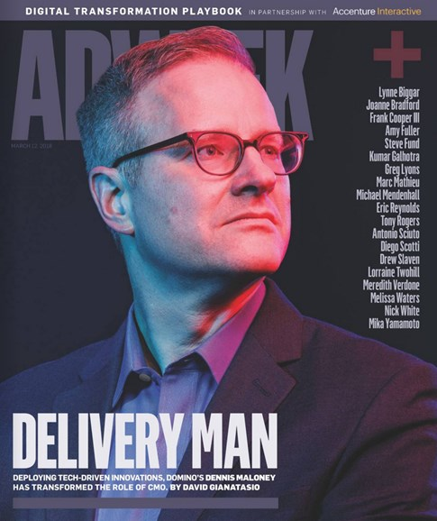 Adweek Cover - 3/12/2018