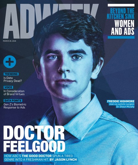 Adweek Cover - 3/26/2018