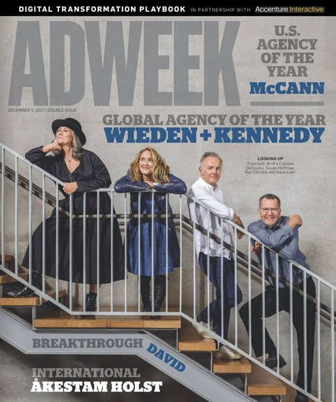 Adweek Cover - 12/4/2017