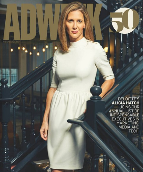 Adweek Cover - 11/27/2017