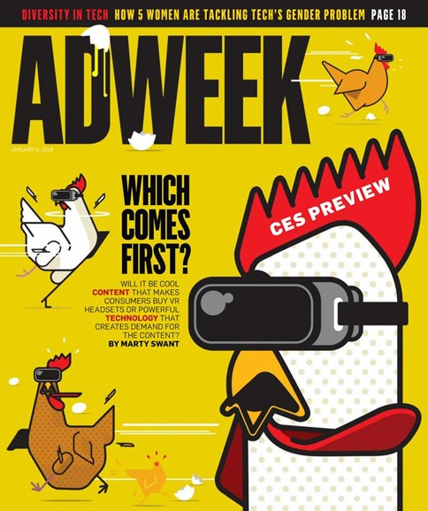 Adweek Cover - 1/8/2018
