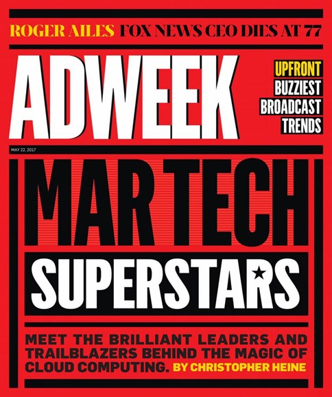 Adweek Cover - 5/22/2017