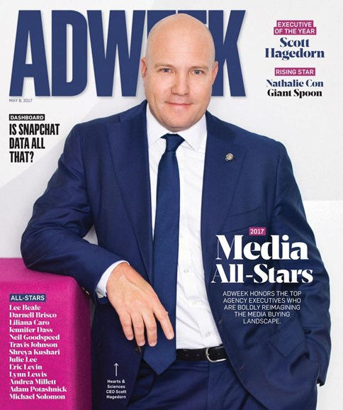 Adweek Cover - 5/8/2017