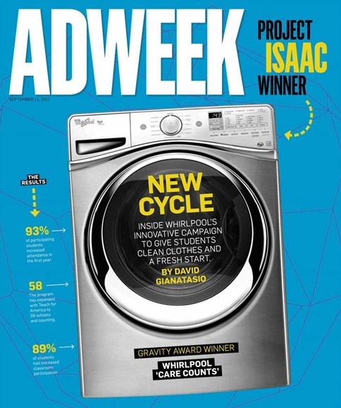 Adweek Cover - 9/11/2017
