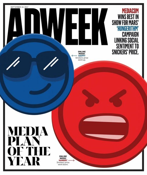 Adweek Cover - 9/18/2017