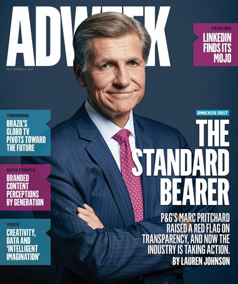 Adweek Cover - 9/4/2017