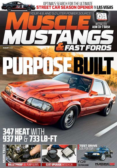 Muscle Mustangs & Fast Fords Cover - 8/1/2018