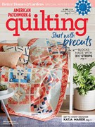American Patchwork & Quilting Magazine 8/1/2018