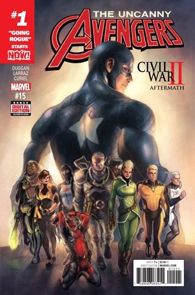 Uncanny Avengers Cover - 12/1/2016