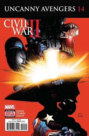 Uncanny Avengers Cover - 11/1/2016