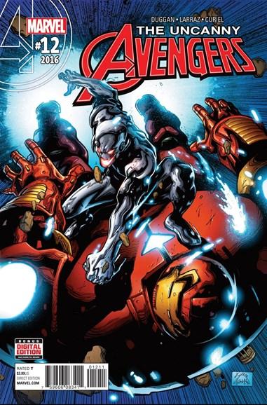 Uncanny Avengers Cover - 10/1/2016
