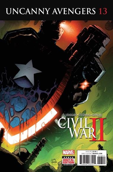 Uncanny Avengers Cover - 10/15/2016