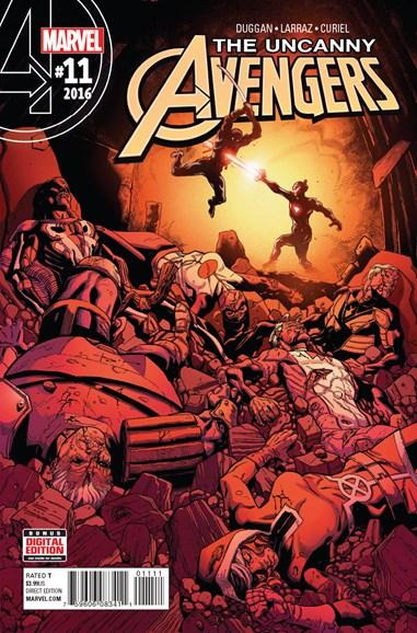 Uncanny Avengers Cover - 9/1/2016