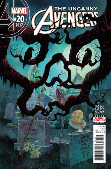 Uncanny Avengers Cover - 4/1/2017