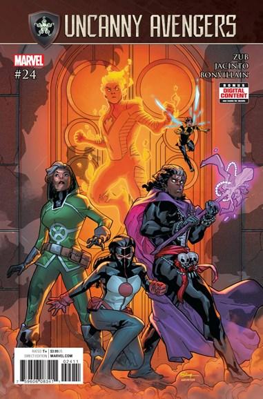 Uncanny Avengers Cover - 8/1/2017