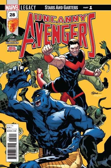 Uncanny Avengers Cover - 12/1/2017