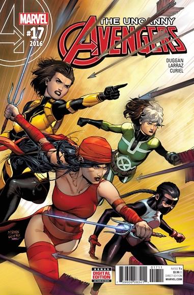 Uncanny Avengers Cover - 2/1/2017