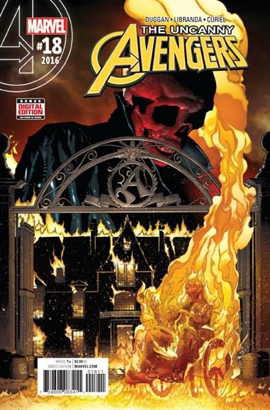 Uncanny Avengers Cover - 2/15/2017