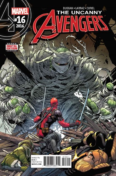 Uncanny Avengers Cover - 1/1/2017