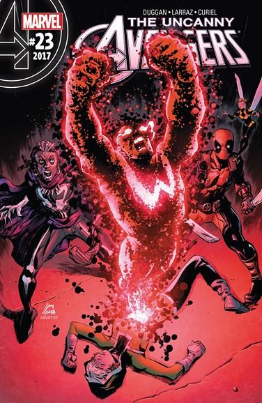 Uncanny Avengers Cover - 7/1/2017