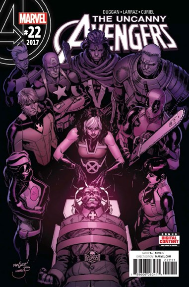 Uncanny Avengers Cover - 6/1/2017