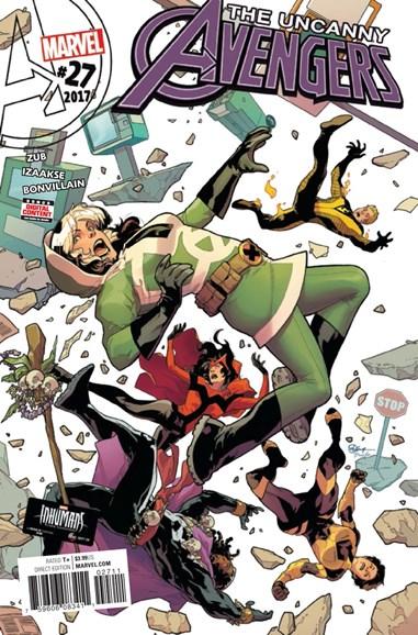 Uncanny Avengers Cover - 11/1/2017