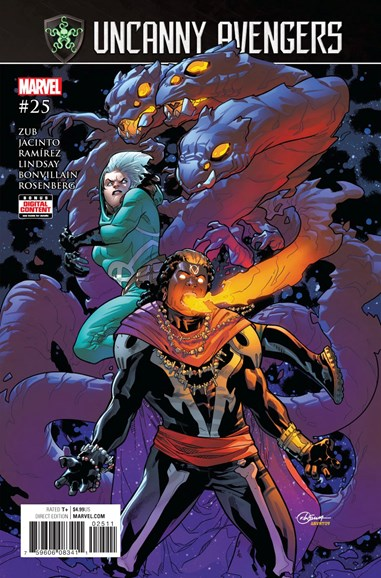 Uncanny Avengers Cover - 9/1/2017