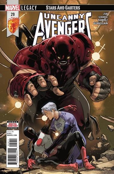 Uncanny Avengers Cover - 1/1/2018