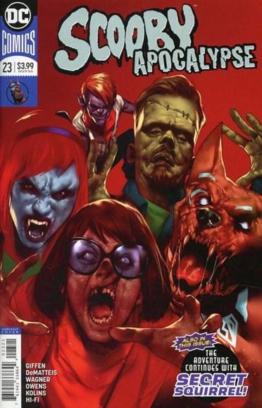 Scooby Apocalypse Cover - 5/15/2018