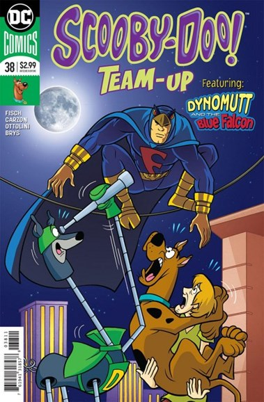 Scooby- Doo Team Up Cover - 7/1/2018