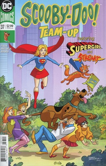 Scooby- Doo Team Up Cover - 6/1/2018