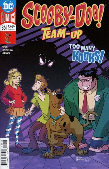 Scooby- Doo Team Up Cover - 5/1/2018