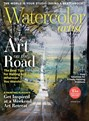 Watercolor Artist Magazine | 8/2018 Cover