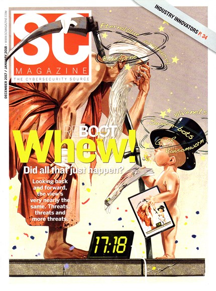 SC Magazine - U.S. edition Cover - 12/1/2017