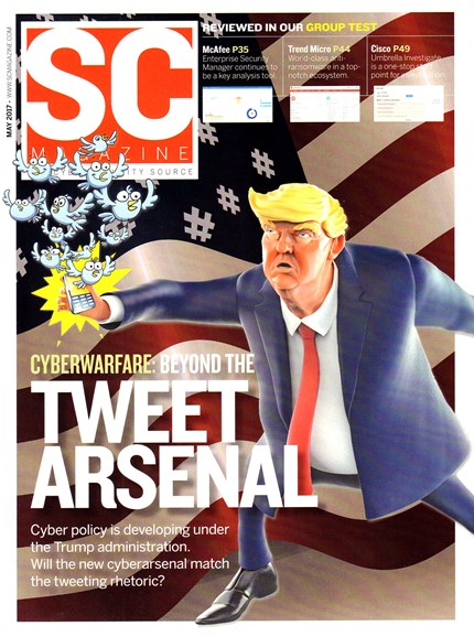SC Magazine - U.S. edition Cover - 5/1/2017