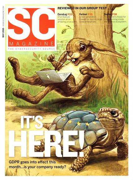 SC Magazine - U.S. edition Cover - 5/1/2018