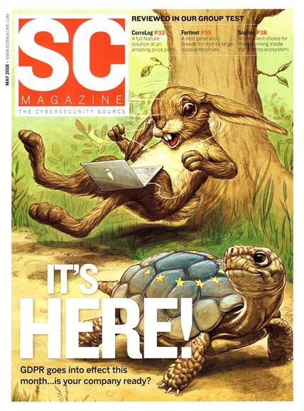SC Magazine - U.S. edition Cover - 5/1/2018