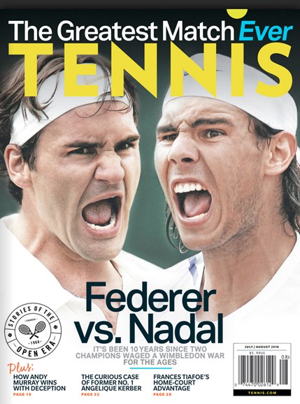 Tennis Magazine Cover - 7/1/2018