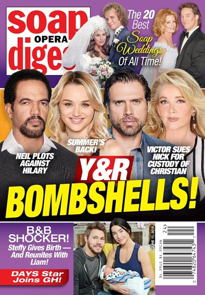 Soap Opera Digest Cover - 6/11/2018