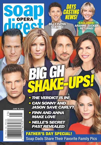 Soap Opera Digest Cover - 6/18/2018