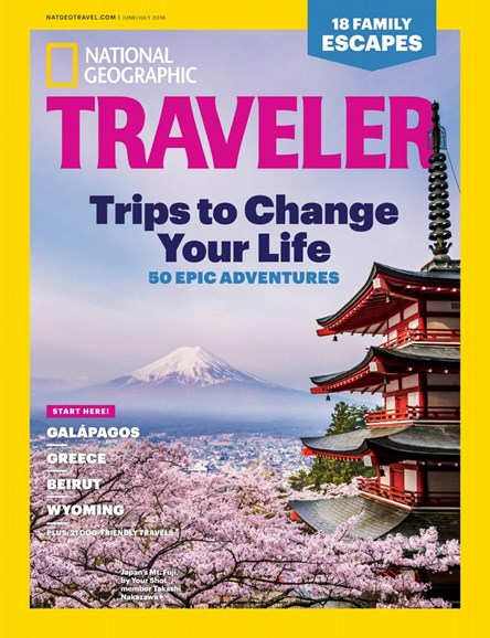 National Geographic Traveler Cover - 6/1/2018