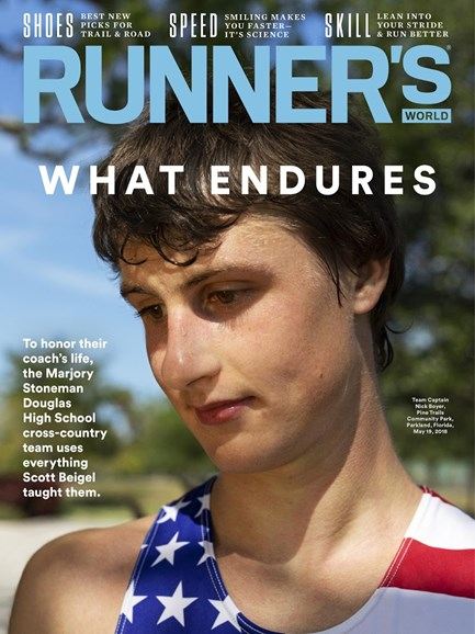 Runner's World Cover - 7/1/2018