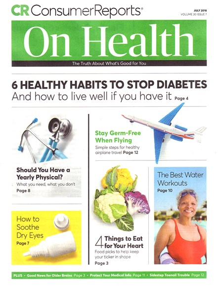Consumer Reports On Health Cover - 7/1/2018