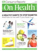Consumer Reports On Health Magazine 7/1/2018