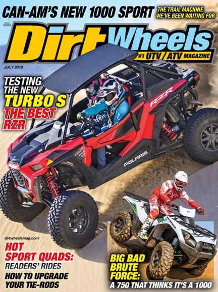 Dirt Wheels Cover - 7/1/2018