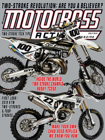 Motocross Action Cover - 7/1/2018